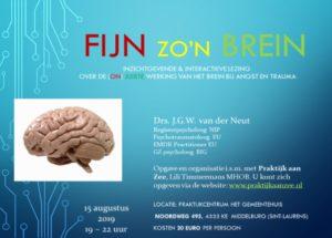 Fijn zo'n brein: een inzichtgevende en interactieve lezing